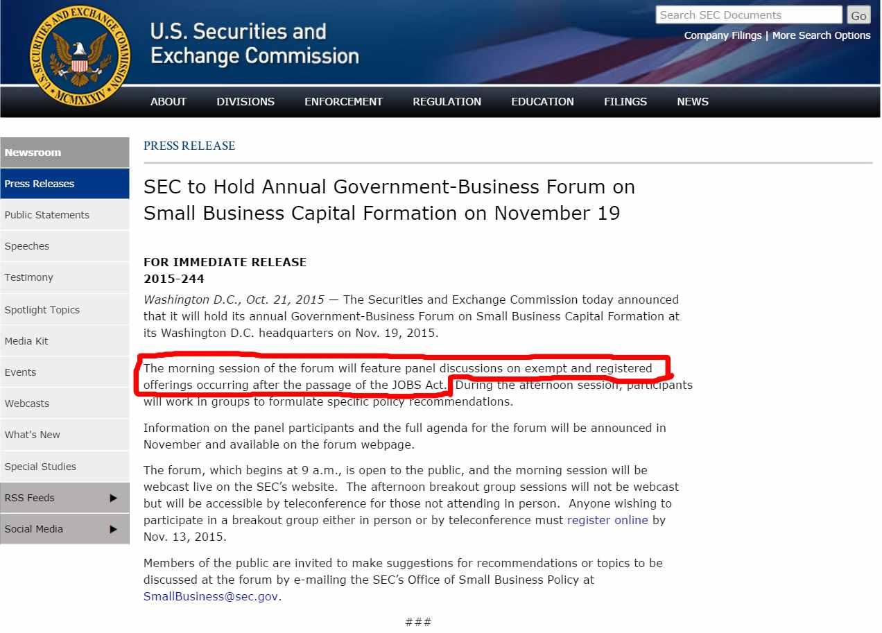 SEC_JOBS_Act_TitleIII_Announcement_Nov_19